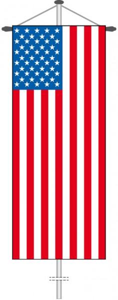 USA als Bannerfahne