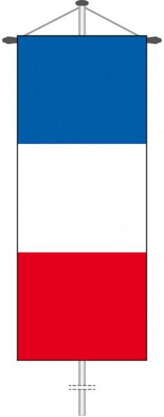 Frankreich als Bannerfahne