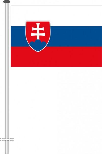 Slowakei als Querformatfahne