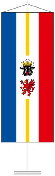 Mecklenburg-Vorpommern - Dienstflagge als Tischbanner