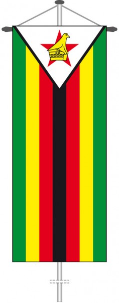 Simbabwe als Bannerfahne