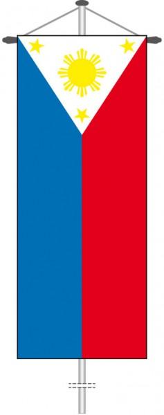 Philippinen als Bannerfahne