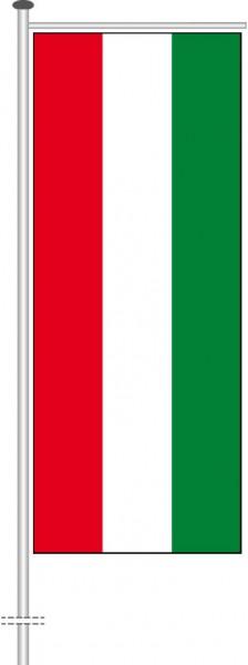 Ungarn als Auslegerfahne
