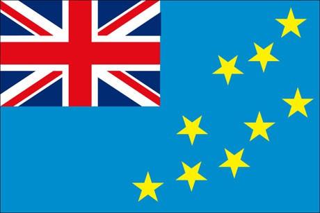Tuvalu als Fanfahne