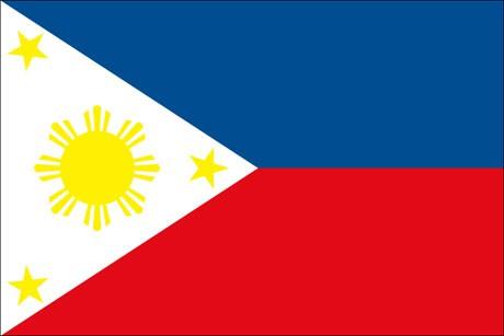 Philippinen als Fanfahne