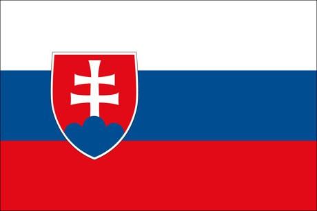 Slowakei als Fanfahne
