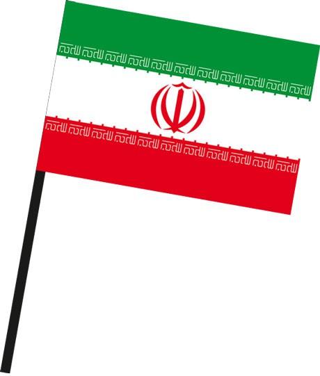 Iran als Stockfahne