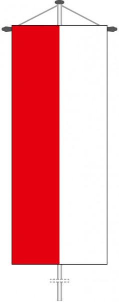 Streifenfahne als Bannerfahne