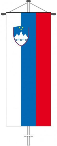 Slowenien als Bannerfahne
