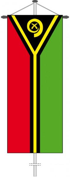 Vanuatu als Bannerfahne