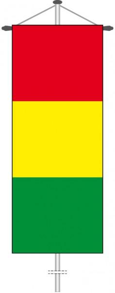 Guinea als Bannerfahne