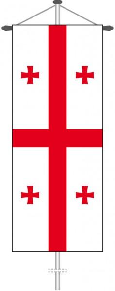 Georgien als Bannerfahne