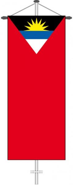 Antigua und Barbuda als Bannerfahne