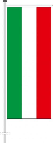 Nordrhein-Westfalen - Streifenflagge als Auslegerfahne
