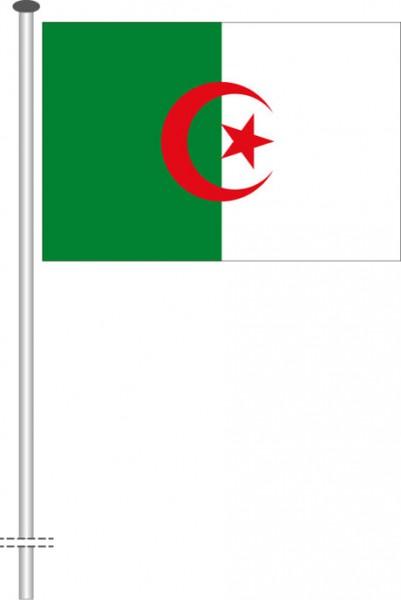 Algerien als Querformatfahne