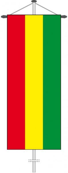 Bolivien als Bannerfahne