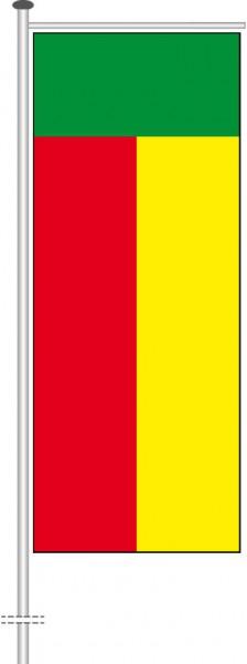 Benin als Auslegerfahne