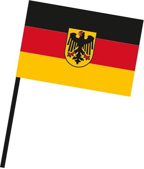 Bundesdienstflagge als Stockfahne