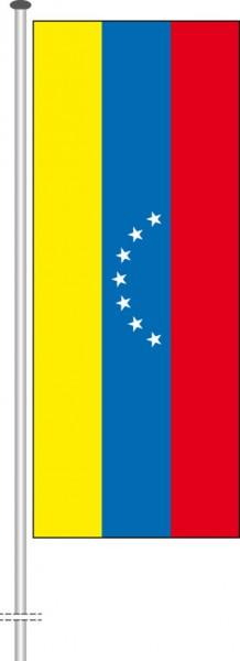 Venezuela als Hochformatfahne