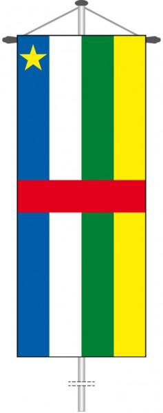 Zentralafrikanische Republik als Bannerfahne