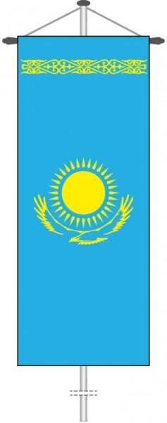 Kasachstan als Bannerfahne