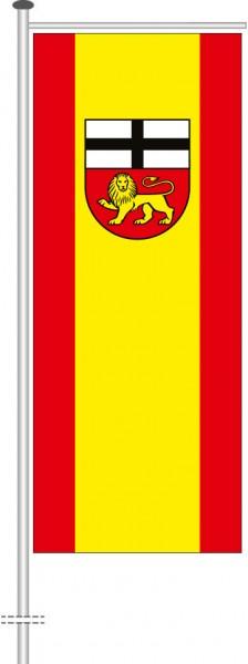 Bonn mit Wappen als Auslegerfahne