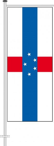 Niederlaendische Antillen als Auslegerfahne
