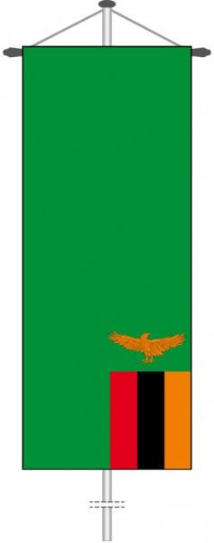 Sambia als Bannerfahne