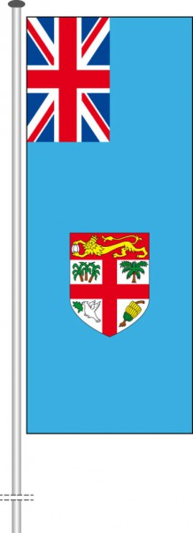 Fidschi als Hochformatfahne