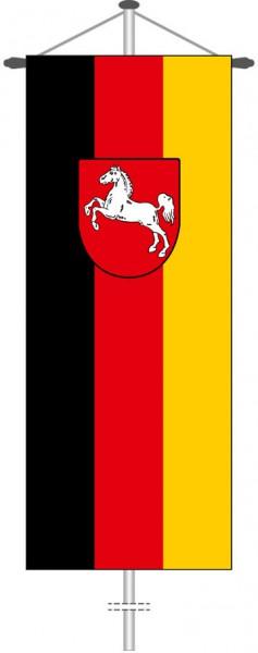Niedersachsen - Bürgerflagge als Bannerfahne
