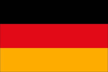 Deutschland als Fanfahne