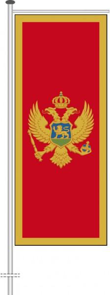 Montenegro als Auslegerfahne