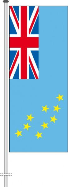 Tuvalu als Hochformatfahne
