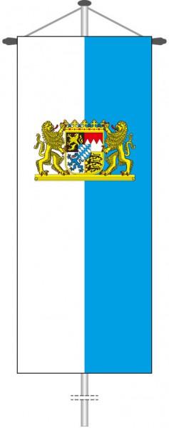 Bayern - Dienstflagge als Bannerfahne