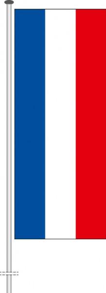 Schleswig-Holstein - Streifenflagge als Hochformatfahne