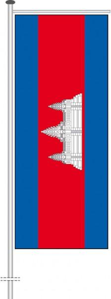 Kambodscha als Auslegerfahne