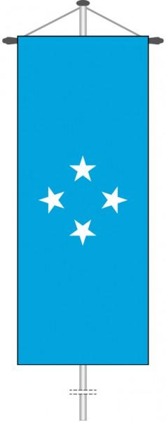 Mikronesien als Bannerfahne