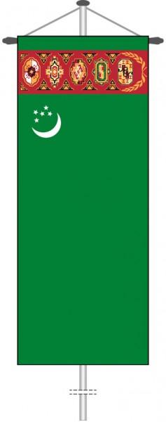 Turkmenistan als Bannerfahne