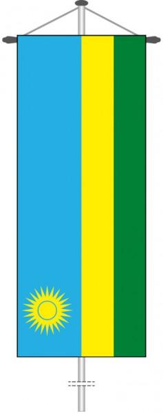 Ruanda als Bannerfahne