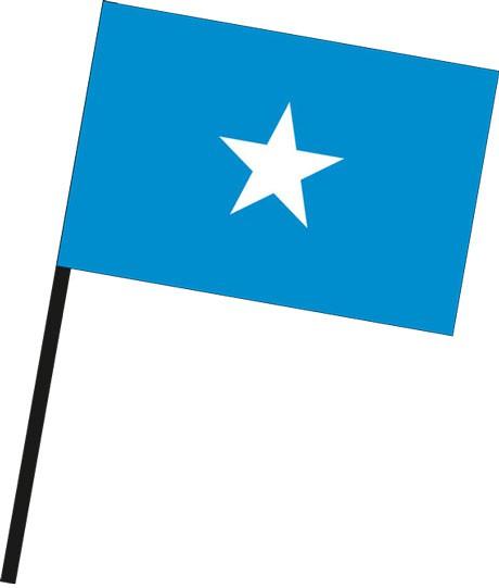Somalia als Stockfahne