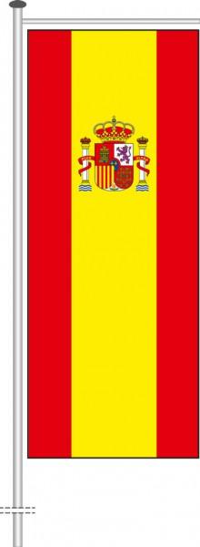 Spanien als Auslegerfahne