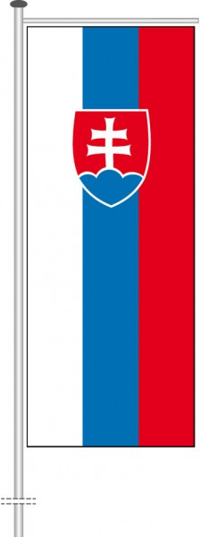 Slowakei als Auslegerfahne