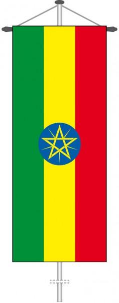 Aethiopien als Bannerfahne