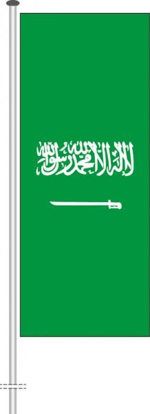 Saudi-Arabien als Hochformatfahne