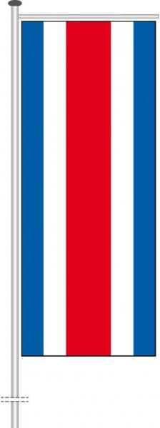 Costa Rica als Auslegerfahne