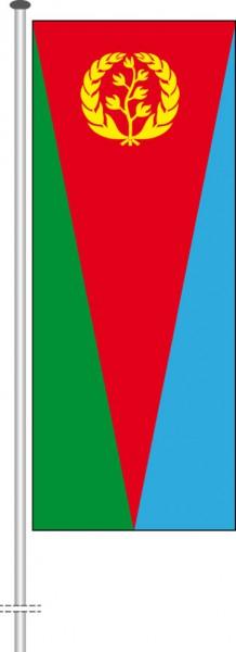 Eritrea als Hochformatfahne