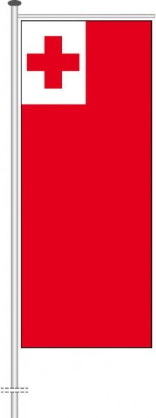 Tonga als Auslegerfahne