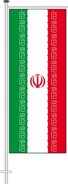 Iran als Auslegerfahne