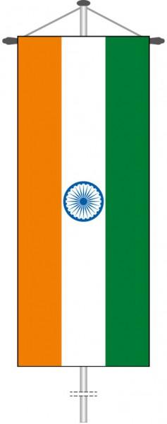 Indien als Bannerfahne