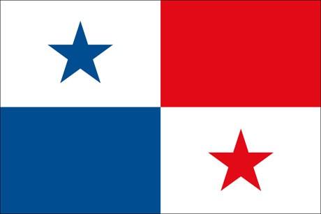 Panama als Fanfahne